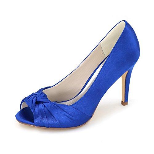 Heels Großer High Hof Fein Schuhe Hochzeit Brautschuhe Schuhe Qingchunhuangtang Satin Fisch Kleidung Schuhe Schuhe Einzelnen Mund mit vdqPzznw