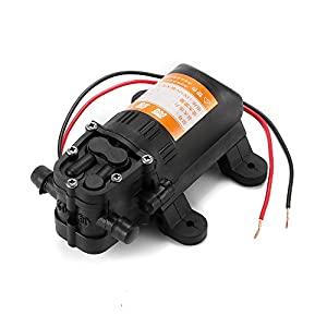 TiooDre Durable DC 12V Agricultural Electric Water Pump Black Micro High Pressure Diaphragm Water Sprayer Car Wash 12 V