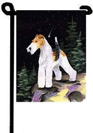 - Wire Fox Terrier Flag