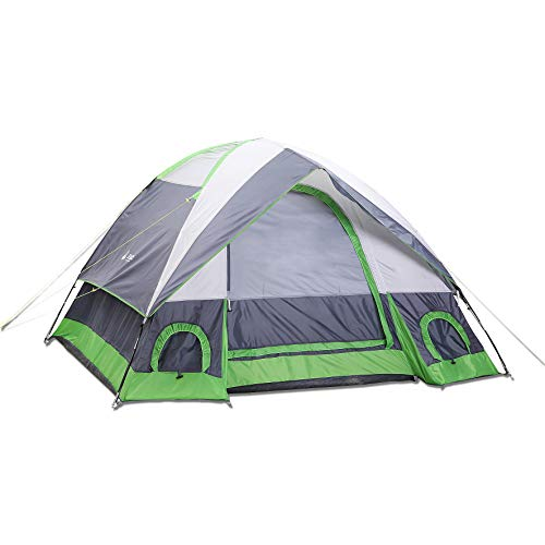 - SEMOO Dome Tent for Camping, Water Resistant 4-Person 3-Season Lightweight Family Tent with Portable Bag