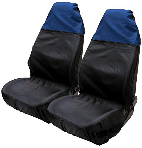 UKB4C Grey Black Full Set Front /& Rear Car Seat Covers for L200 Pickup