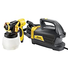 Wagner Spraytech Wagner 0529017 PaintReady Station HVLP Paint Sprayer, Paint or Stain Sprayer, Complete Adjustability for Decks, Cabinets, Furniture and Woodworking,Yellow/Black