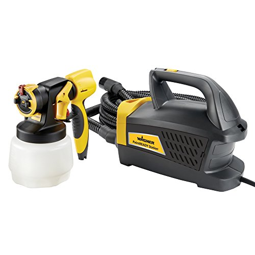 Wagner Spraytech Wagner 0529017 PaintReady Station HVLP Paint Sprayer, Yellow/Black (Wagner 0518080 Control Spray Max Hvlp Sprayer)