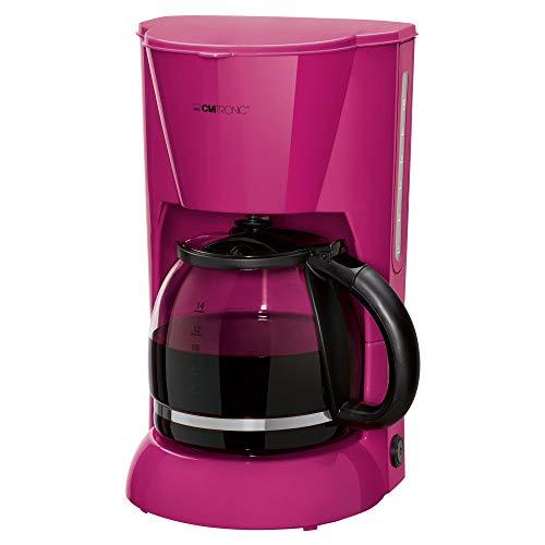 Clatronic KA 3473 Cafetera eléctrica de goteo automática, máquina café de filtro capacidad 12 a 14 tazas, 1,5 litros…