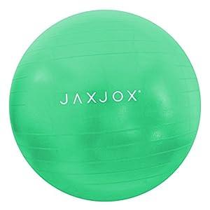 JAXJOX Balance Stability Gym/Swiss Ball 65cm (pump included), Green