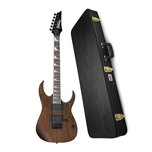Ibanez GRG121DX 6-String Solid-Body Electric Guitar with Knox Gear Electric Guitar Case Bundle