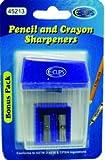 Pencil/Crayon Sharpeners - 2 Pack- Asst.Colors 48 pcs sku# 1458229MA