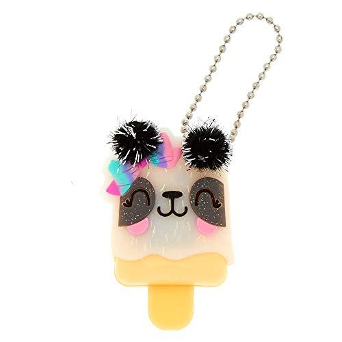 (Claire's Girl's Pucker Pops Paige the Panda Pom Lip Gloss - Strawberry)