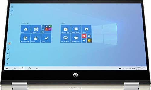 "HP Pavillion x360 2in1 14"" FHD Touchscreen Newest Flagship Laptop, Intel Quad-Core i5-1035G1(Beat i7-8565U), 16GB RAM, 512GB PCIe SSD, Fingerprint, Backlit-KB, Fast Charge, HDMI, w/GM Accessories"