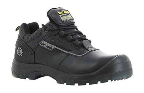 SAFETY JOGGER NOVA Men Safety Toe Lightweight EH PR Water Resistant Shoe, M 13, Black