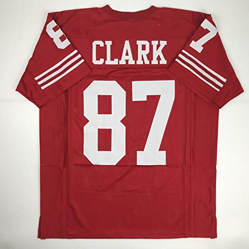 Unsigned Dwight Clark San Francisco Red Custom Stitched Football Jersey Size Men's XL New No Brands/Logos (Football Dwight Clark)
