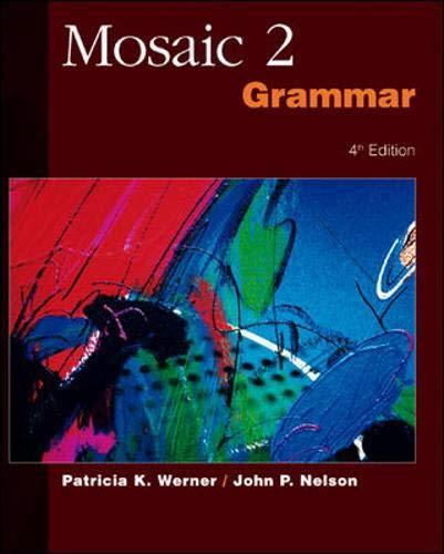 Mosaic 2: Grammar (Bk. 2)