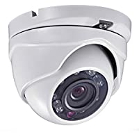 Outdoor HD-TVI 2.4MP 1080P 3 Axis Eyeball Dome Camera - 3.6mm Lens UL LISTED (Working for TVI DVR Only)
