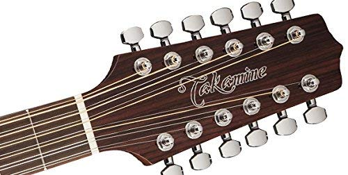 Takamine GD30CE-12 NAT-KIT-1 Dreadnought 12-String Cutaway Acoustic-Electric Guitar with Jumbo Gig Bag