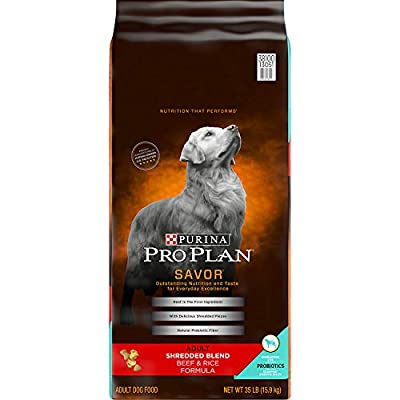 Purina Pro Plan SAVOR Shredded Blend With Probiotics Adult Dry Dog Food