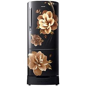 Samsung 212 L 4 Star Direct-Cool Single Door Refrigerator (RR22T285XCB/NL, Camellia Black)