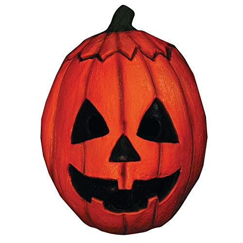 - Trick or Treat Studios Men's Halloween III-Pumpkin Mask, Multi, One Size