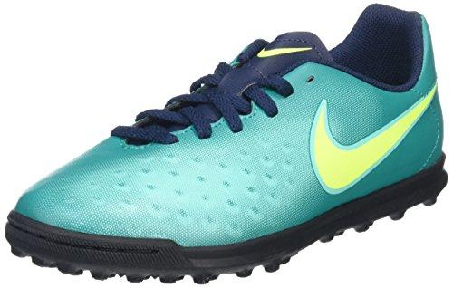 Nike 844416-375, Botas de Fútbol Unisex Adulto Azul (Rio Teal / Volt / Obsidian / Clear Jade)