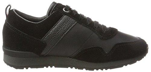 Tommy Hilfiger Jungen M3285axwell Jr 11c1 Sneaker Schwarz (Black)