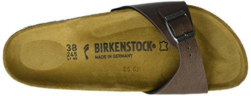Birkenstock Madrid Birko-flor - Mules Mujer Pull Up Brown