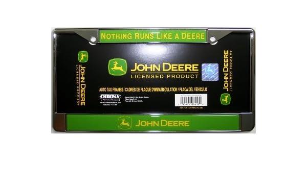 Amazon.com: John Deere License Plate Frame: Sports & Outdoors