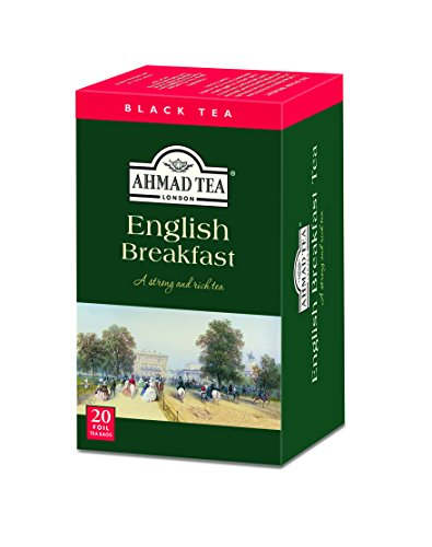 Ahmad Tea English Breakfast Tea, 20-Count Boxes (Pack of 6)