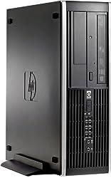 HP 6300 Pro Small Form Factor Business Desktop Computer, Intel Core i3 Dual Core 3.3GHz Processor , 4GB DDR3 RAM, 500GB HDD, DVD, USB 3.0, VGA, Windows 10 Professional (Certified Refurbished)
