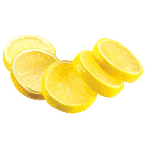 2'' Artificial Bagged Lemon Slices -Yellow (pack of 24) by SilksAreForever
