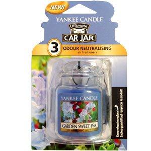 Yankee Candle-Car Jar Ultimate Bonus Pack - Garden Sweet Pea ()