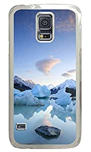 Samsung Galaxy S5 Beautiful Hail And Snow capped Mountains PC Custom Samsung Galaxy S5 Case Cover Transparent