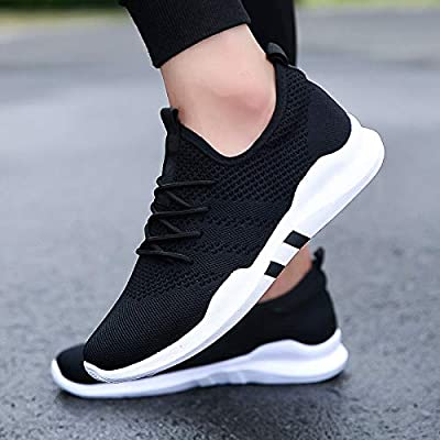 bceae5f55fac8 Amazon.com: DingXiong Men Casual Shoes Sneakers Fashion Breathable ...