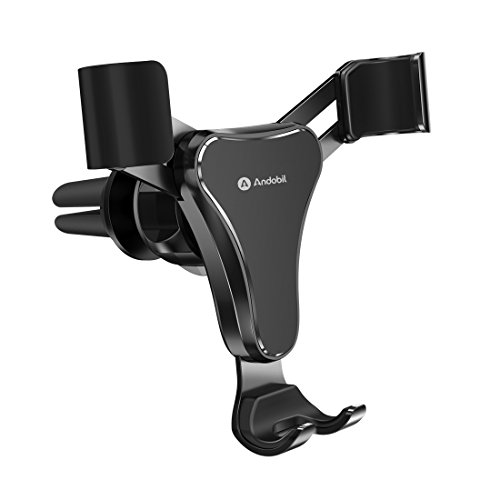 Phone Holder for Car, Andobil Universal Gravity Auto Lock Air Vent Cell Phone Car Mount Cradle for iPhone X/8/7/6Plus, Samsung GalaxyS8/S7/Note 8/7, Google, Nexus and other Smartphone