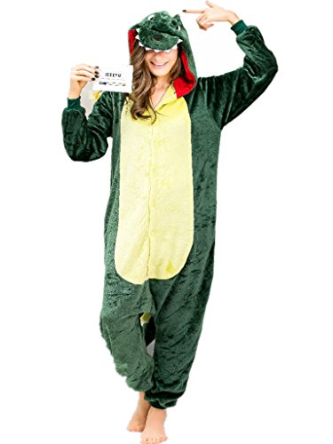 dinosaur-mens-onesie-pajamas-adult-plush-one-piece-jumpsuit-plus-size-sleepwear