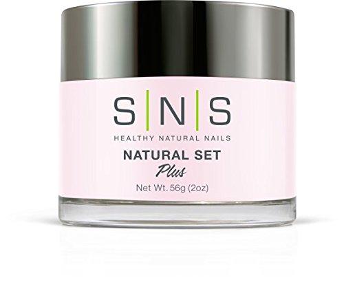 SNS Natural Set Nail Dipping Powder by SNS