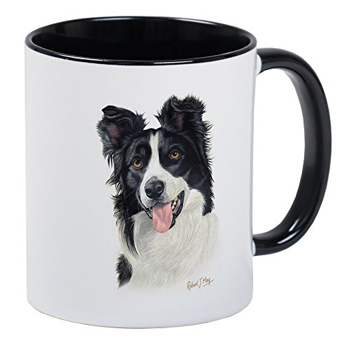 CafePress Border Collie Mug Unique Coffee Mug, Coffee Cup