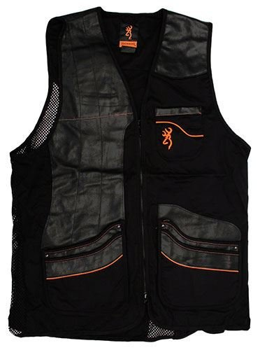 Browning Master-Lite Leather Patch Vest, ()