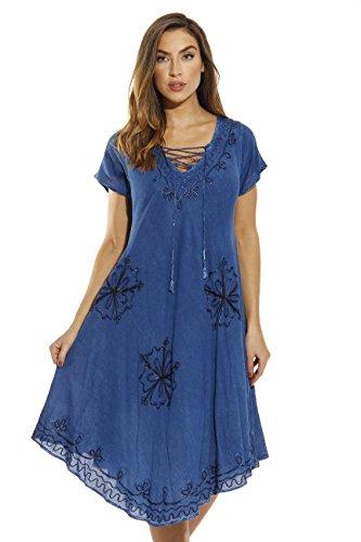 Riviera Sun 21726-MDDEN-3X Dress/Dresses for Women