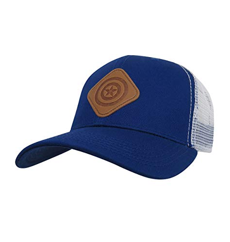 (Captain America Scout Adjustable Trucker Snapback Hat)