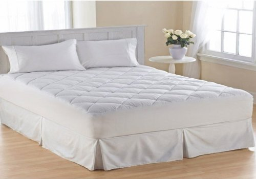 Bed In A Bag 501 Hotel Collection Pillow Top 1000TC Mattress Pad 22 in. Super Deep Pocket