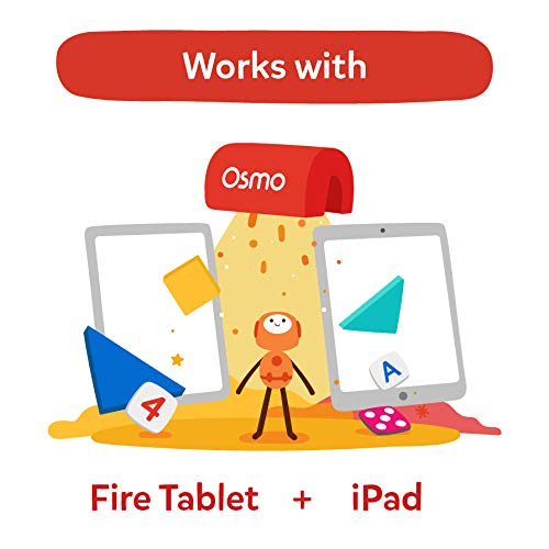 Osmo - Little Genius Costume Pieces - 2 Educational Games - Ages 3-5 - Stories & Creativity - For iPad or Fire Tablet - STEM Toy (Osmo Base Required - Amazon Exclusive)