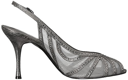 Adrianna Papell Womens Fiji Dress Sandal Gunmetal