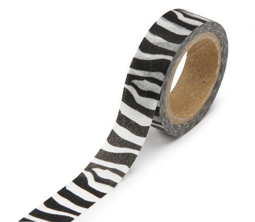 DARICE 1217 131 Washi 315 Inch Zebra