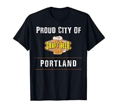 The big Craft Beer Centres in the USA T-Shirt