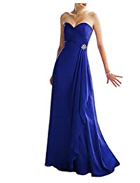 VaniaDress Women A Line Sweetheart Long Bridesmaid Evening Dress V293LF