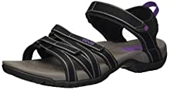 Women's Teva, Tirra A lightweight and comfortable outdoor sandal that's ready to get wet It is designed specifically for a woman's foot and provides the ultimate in comfort and performance in the water Feminine, strappy upper with adjustable ...