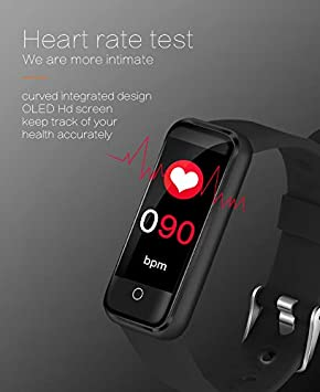 Attendere Fitness Tracker HR IP67 Step Counter,Smart Wristband with Color Screen for Kids Women and Men Activity Tracker Waterproof Blood Pressure Monitor and Sleep Monitor,Calorie Counter