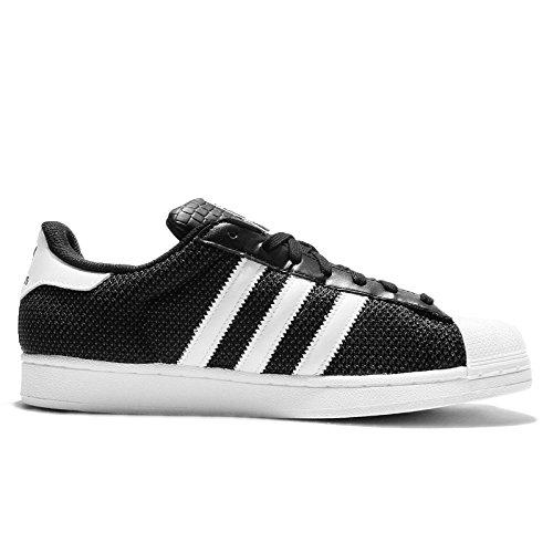 Adidas SUPERSTAR Größe 36.5 CBLACK/FTWWHT/FTWWHT