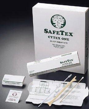 No Touch Safetex 25 Pap-Smear Kits (2 slides) [ 1 Pack(s)]
