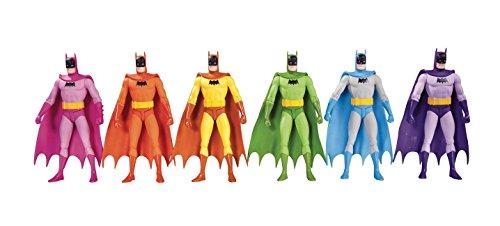DC Collectibles Batman: Rainbow Action Figure (6 Pack) (Dc Collectibles Batman 75th Anniversary Action Figure)