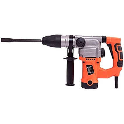 1000W Electric Rotary Hammer Drill Set With Chisel Kit 3